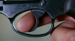 Finger On The Trigger - stock footage
