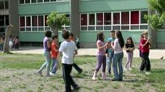 School 25 fps 7 - stock footage