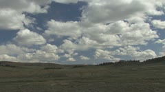 P01849 Tracking Shot of Great Plains on Cloudy Day Stock Footage