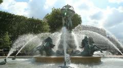 Fontaine de l'Observatoire. Stock Footage