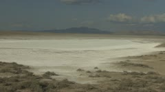 P01857 Dry Lakebed - stock footage