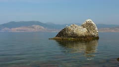 Beautiful sea bay Stock Footage