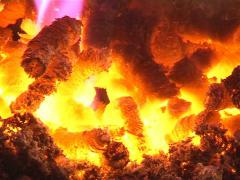 Heating house straw Stock Footage