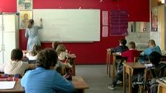 School 25 fps 06 - stock footage