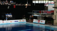 Stock Video Footage of Diving Championship Slowmotion