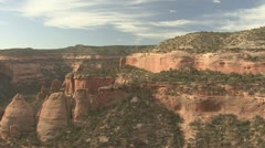 P01876 Colorado National Monument Scenery Stock Footage