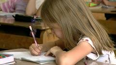 School 25 fps 16 - stock footage