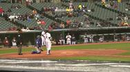 Cleveland Indians game Stock Footage