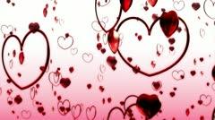 Heart MotionA BG 1080HD Stock Footage