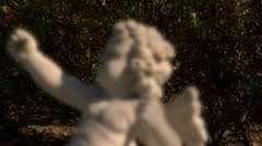 Stock Video Footage of Cherub Statue with Rack Focus (1080-24FPS).mp4