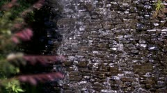 Man-made Waterfall center (1080-24FPS).mp4 - stock footage