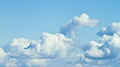 Clouds timelapse - stock footage