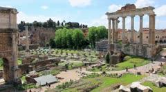 Italy, Rome Stock Footage