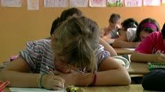 School 30 fps 02 - stock footage