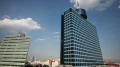 WTC mexico city architecture Stock Footage