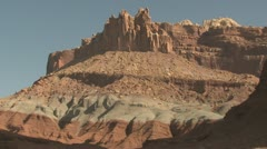P01919 The Reef at Capital Reef National Park Stock Footage