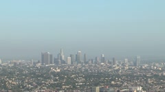 LA day to night4 Stock Footage