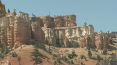 P01923 Bryce Canyon National Park in Utah Stock Footage