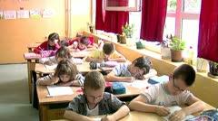 School 30 fps 07 - stock footage