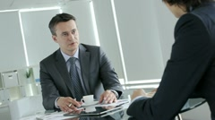 Business issues - stock footage