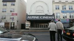 BayRidgeBrooklyn MovieTheater Stock Footage