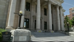 892 generic Courthouse - stock footage