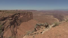 P01954 Desert Scenery at Canyonlands National Park in Utah - stock footage