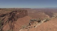 Stock Video Footage of P01954 Desert Scenery at Canyonlands National Park in Utah