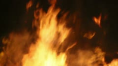 Fire Detail Clip 23 Part 1 Stock Footage