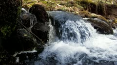 River, Waterfall Close Up HD Stock Footage