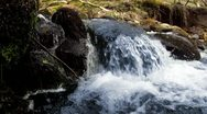 Stock Video Footage of River, Waterfall Close Up HD
