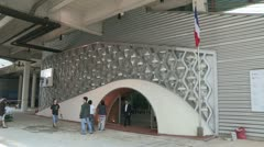 France pavillon - Yeosu Expo 2012 Stock Footage
