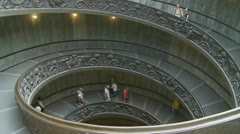 Stairs at the Vatican (one) Stock Footage