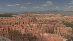 P01970 Bryce Canyon National Park in Utah Stock Footage