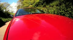 Car Driving - Front Mount HD - stock footage