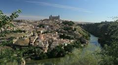 Toledo and Rio Tajo 6 Stock Footage
