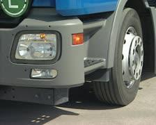 Truck blinker - stock footage