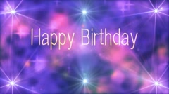 Happy Birthday 1 Stock Footage