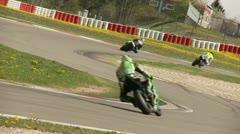 Motorcyccling Race - stock footage