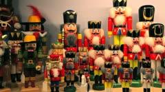 Christmas Decorations, Bavaria, Germany Stock Footage