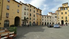 Italy - Tuscany - Lucca Stock Footage