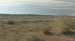 P01991 Red Desert of Wyoming Stock Footage