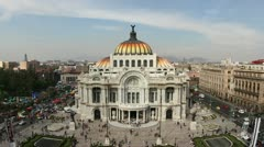 Bellas artes mexico city architecture Stock Footage