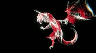 Stock Video Footage of Dragon Abstract (HD)