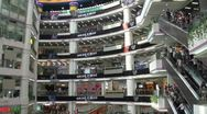 Stock Video Footage of Inside a shopping mall in Guangzhou, China