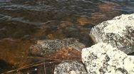 Stock Video Footage of Moraines under water in Finnish Lapland 3