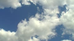 Afternoon and evening cloud 14 Stock Footage