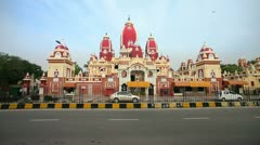 Lakshmi Narayan Temple, India Stock Footage