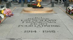 Unknown soldier monument. Stock Footage