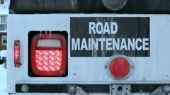 Road maintenance. Stock Footage